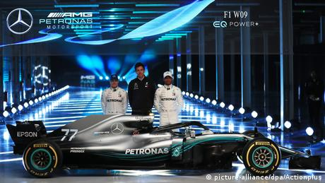 Formel 1 - Mercedes Team Präsentation 2018 (picture-alliance/dpa/Actionplus)
