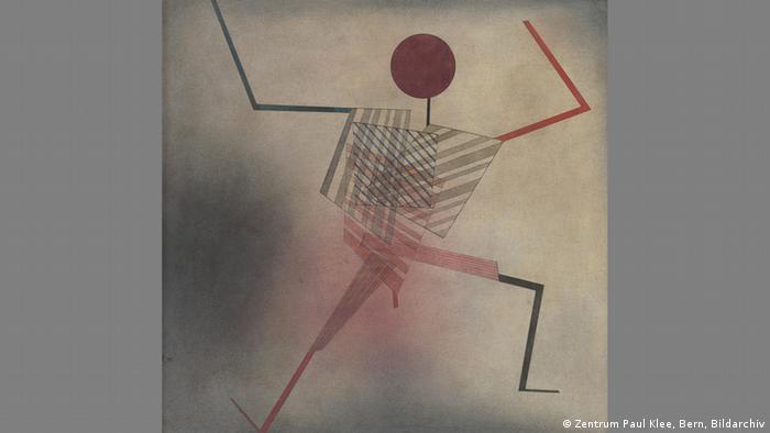 Klee drawing The Jumper (Zentrum Paul Klee, Bern, Bildarchiv)