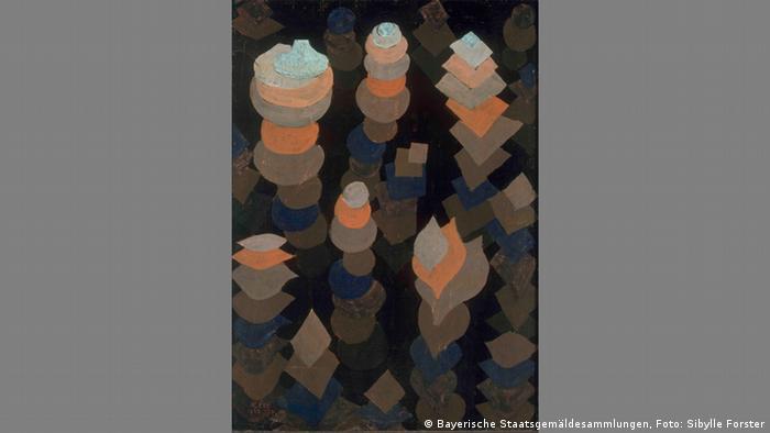 Klee's Growth of the Night Plants (Bayerische Staatsgemäldesammlungen, Foto: Sibylle Forster)