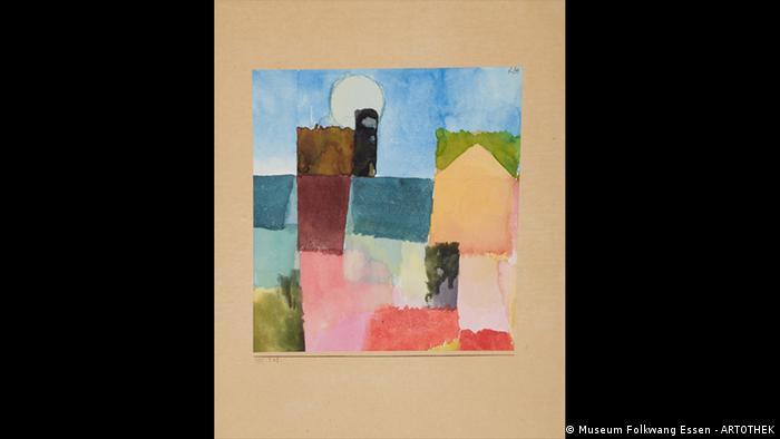 Paul Klee painting Moon Rising (Folkwang Essen - ARTOTHEK)