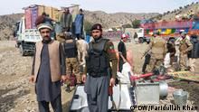 Pakistani Refugee arrived from Afghanistan. Strict security measure were taken to avoid any mishap. North Waziristan (Displaced People arrived from Afghanistan) Photo: Faridullah Khan / DW