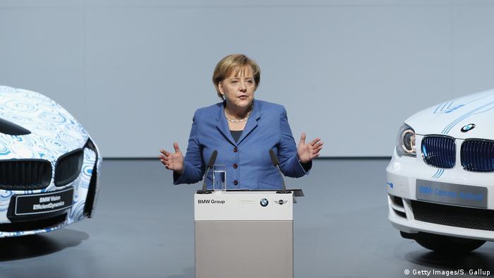 Angela Merkel, şefa guvernului german