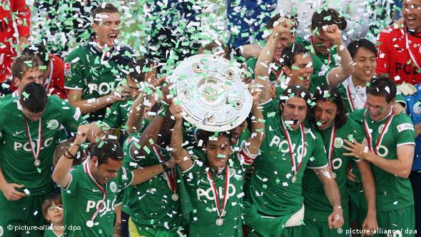 23.5.2009. Povijesni dan u Wolfsburgu. Istoimeni klub osvojio je svoju prvu titulu nogometnog prvaka Njemačke!