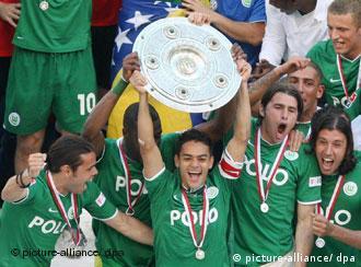 沃尔夫斯堡获得联赛冠军