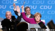 Deutschland CDU Parteitag in Berlin Abstimmung