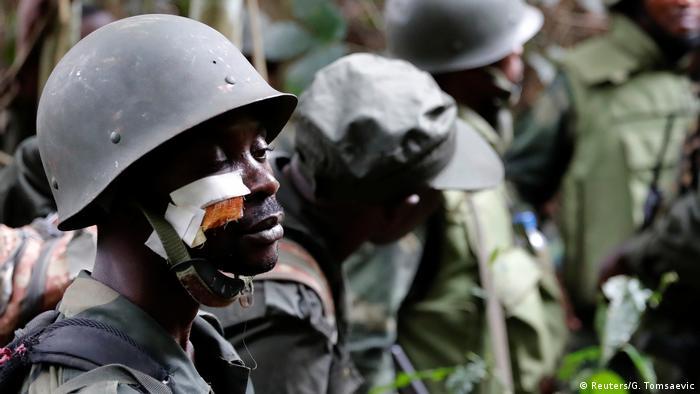 Jeshi la Congo (FARDC) limekuwa likijaribu kutokomeza mashambulizi ya mara kwa mara kutoka kwa makundi ya wanamgambo katika baadhi ya maeneo ya Congo.