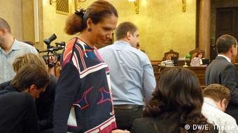 Юлія Льовочкіна у Відні на суді щодо екстрадиції до США її бізнес-партнера Дмитра Фірташа