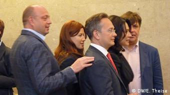 Денс Горбуненко на суді щодо екстрадиції Дмитра Фірташа у Відні