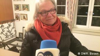 Sigrid Peters, la profesora de música que no está de acuerdo con conservar la campana.