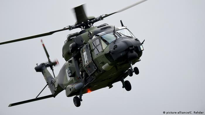 Mehrzweck-Helikopter vom Typ NH90 (picture-alliance/C. Rehder)