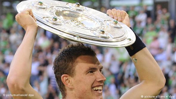 Najveći uspjeh s Wolfsburgom: osvajanje titule prvaka Njemačke u sezoni 2008./2009.