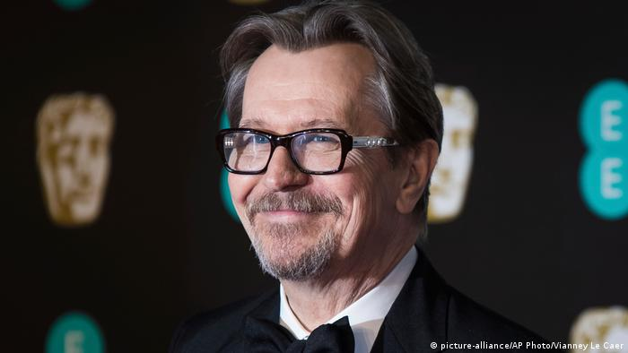 Gary Oldman in London (picture-alliance/AP Photo/Vianney Le Caer)
