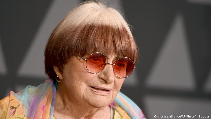 USA Agnes Varda in Los Angeles (picture-alliance/AP Photo/J. Strauss)
