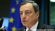 Belgien Mario Draghi in Brüssel