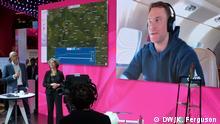 26.12.2018 Pressekonferenz der Deutschen Telekom mit Claudia Nemat und Manuel Neuer, die beim Mobile World Congress in Barcelona stattgefunden hat