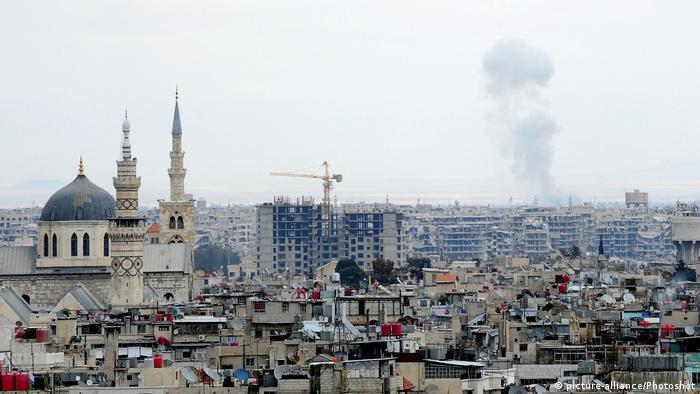 Syrien Luftangriffe auf Ost-Ghuta
