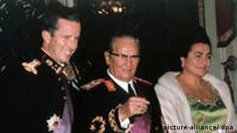 Belgijski kralj Baudouin, Tito i Jovanka