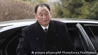 Kim Yong Chol (picture-alliance/AP Photo/Korea Pool/Newsis)