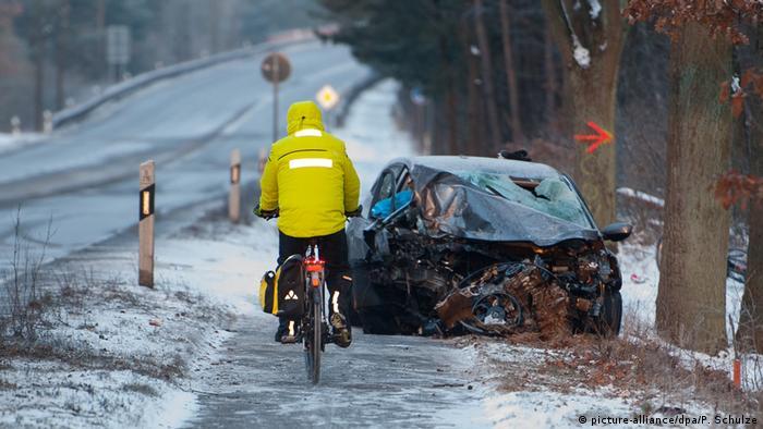Onda de frio deixa pelo menos 24 mortos em toda a Europa