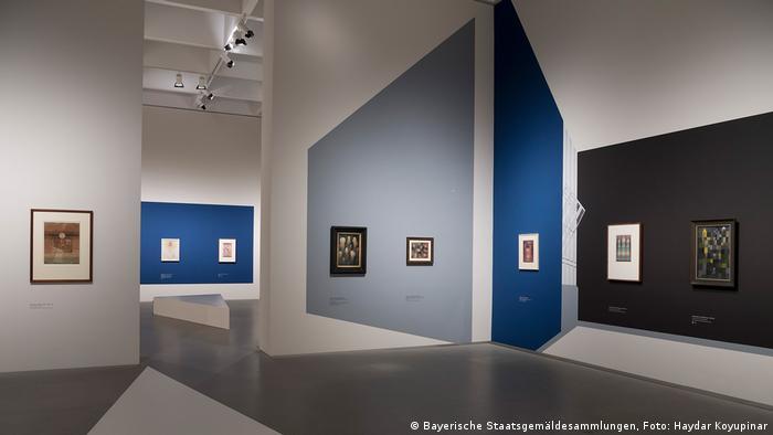 Выставка Пауля Клее в Пинакотеке современности