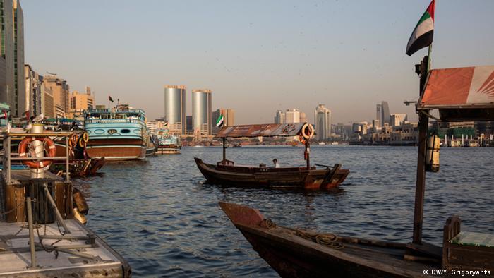 Alter Hafen von Dubai (DW/Y. Grigoryants)