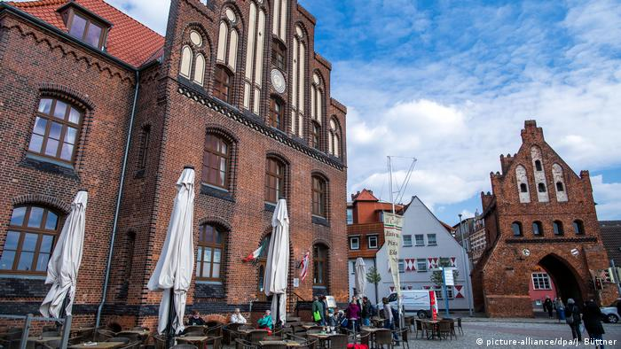 A red brick building in Wismar (picture-alliance/dpa/J. Büttner)