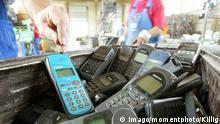 Sammelstelle für Handys