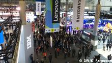 Spanien Barcelona Mobile World Congress