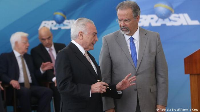 Brasilien Raul Jungmann (Agência Brasil/Antonio Cruz)