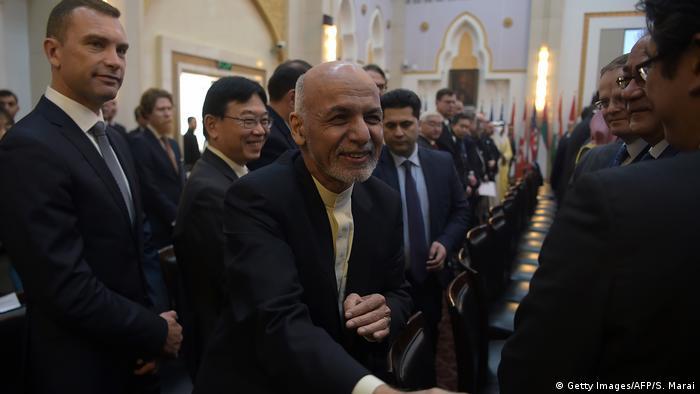 Afganistan Devlet Başkanı Eşref Gani'nim barış teklifi sunduğu konferansa 26 ülke temsilcisi katıldı.
