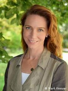 Coral reef scientist Kim Cobb