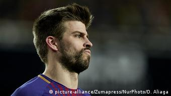 Gerard Pique (picture-alliance/Zumapress/NurPhoto/D. Aliaga)
