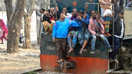 Bangladesch Risiko Bahnfahrt Dhaka-Narayanganj (bdnews24.com)