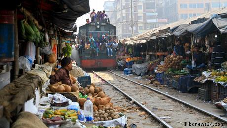 Bangladesch Risko Bahnfahrt Dhaka-Narayanganj (bdnews24.com)