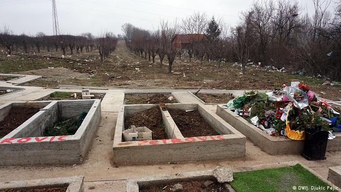 Serbien illegale Friedhöfe | Nis, Obstfarm