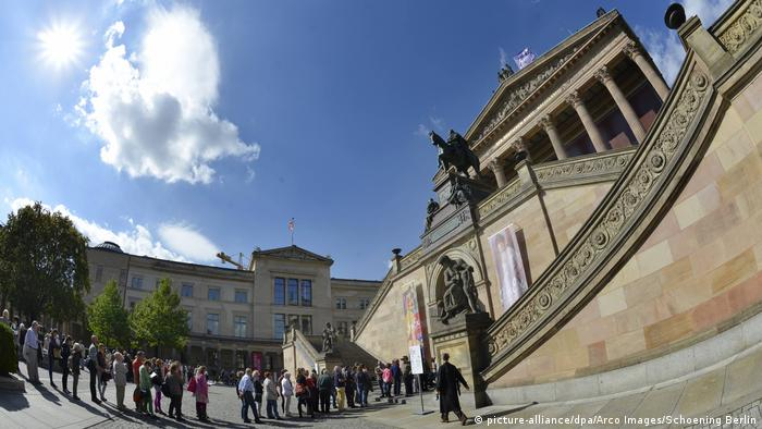 Berlin Museumsinsel - Alte Nationalgalerie (picture-alliance/dpa/Arco Images/Schoening Berlin)