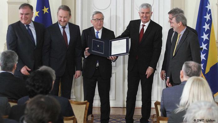 U Briselu kao pozitivan pomak u BiH vide činjenicu da je zemlja predala odgovore na Upitnik Evropskoj komisiji
