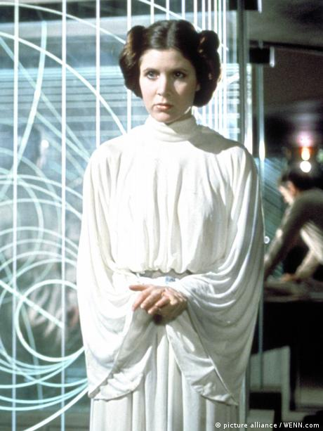 Star Wars Princess Leia (1977) (picture alliance / WENN.com)