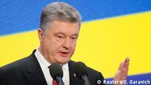 Ukraine Präsident Petro Poroschenko in Kiew