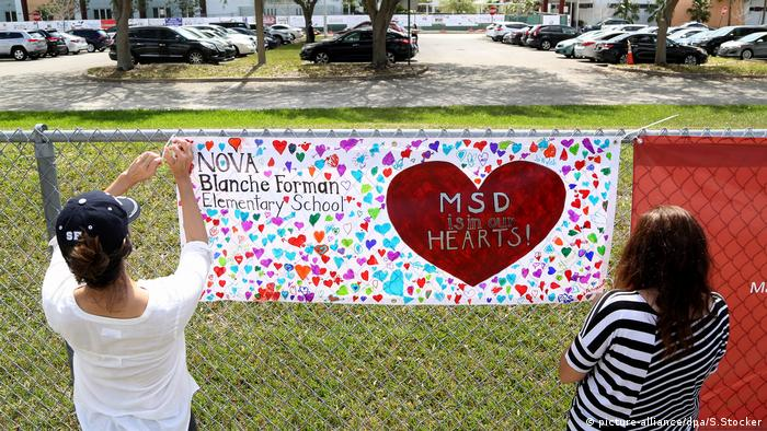 Florida, nach dem Massaker in Parkland (neu) (picture-alliance/dpa/S.Stocker)