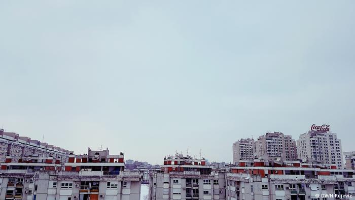 Serbien, Panorama von Belgrad