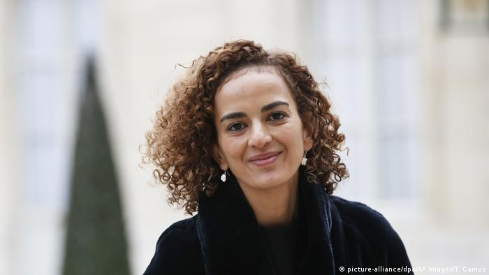 Leila Slimani in a photo from 2017 (picture-alliance/dpa/AP Images/T. Camus)
