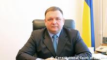 Stanislav Shevchuk, Präsident des Verfassungsgerichts der Ukraine