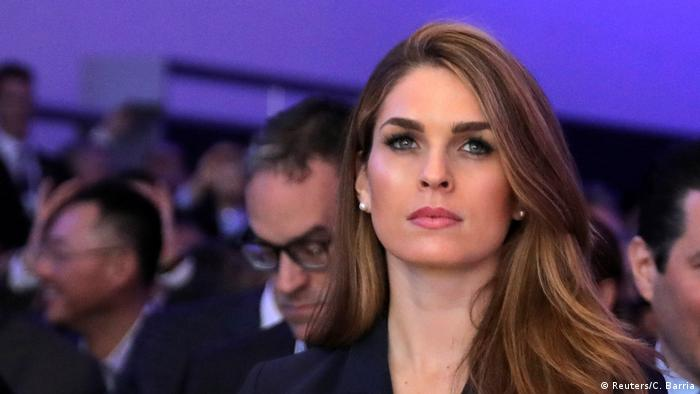 Hope Hicks (Reuters/C. Barria)