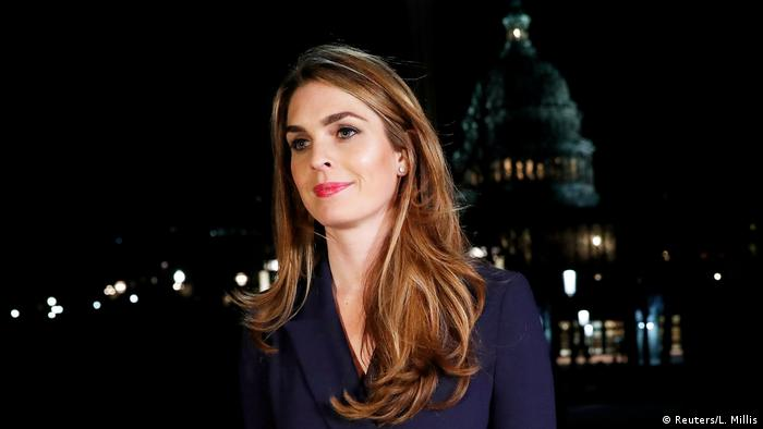 Hope Hicks (Reuters/L. Millis)
