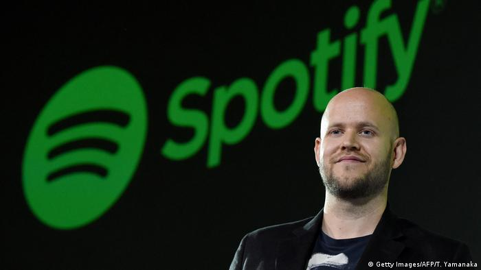 Spotify CEO and Co-founder Daniel Ek (Getty Images/AFP/T. Yamanaka)