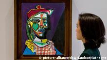 Picasso-Porträt wird in London versteigert