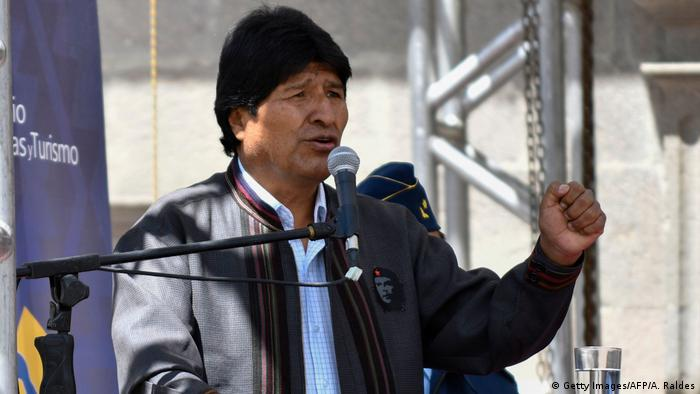 Evo Morales (Getty Images/AFP/A. Raldes)