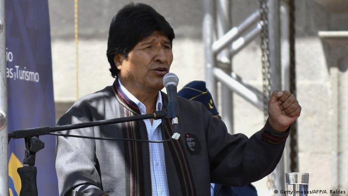 Evo Morales (Getty Images/AFP/A. Raldes)