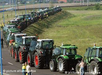 prosvjedi seljaka